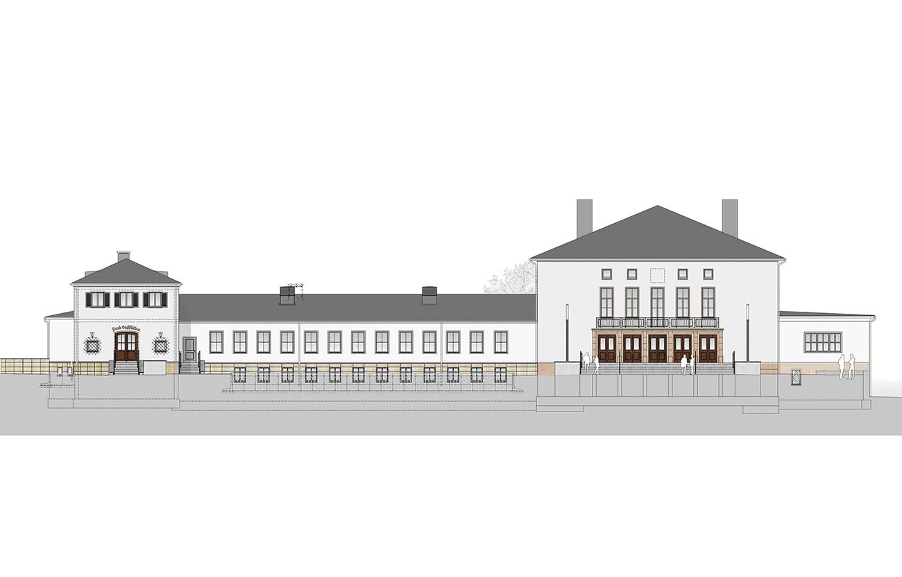 Generalsanierung Festhalle Ilmenau