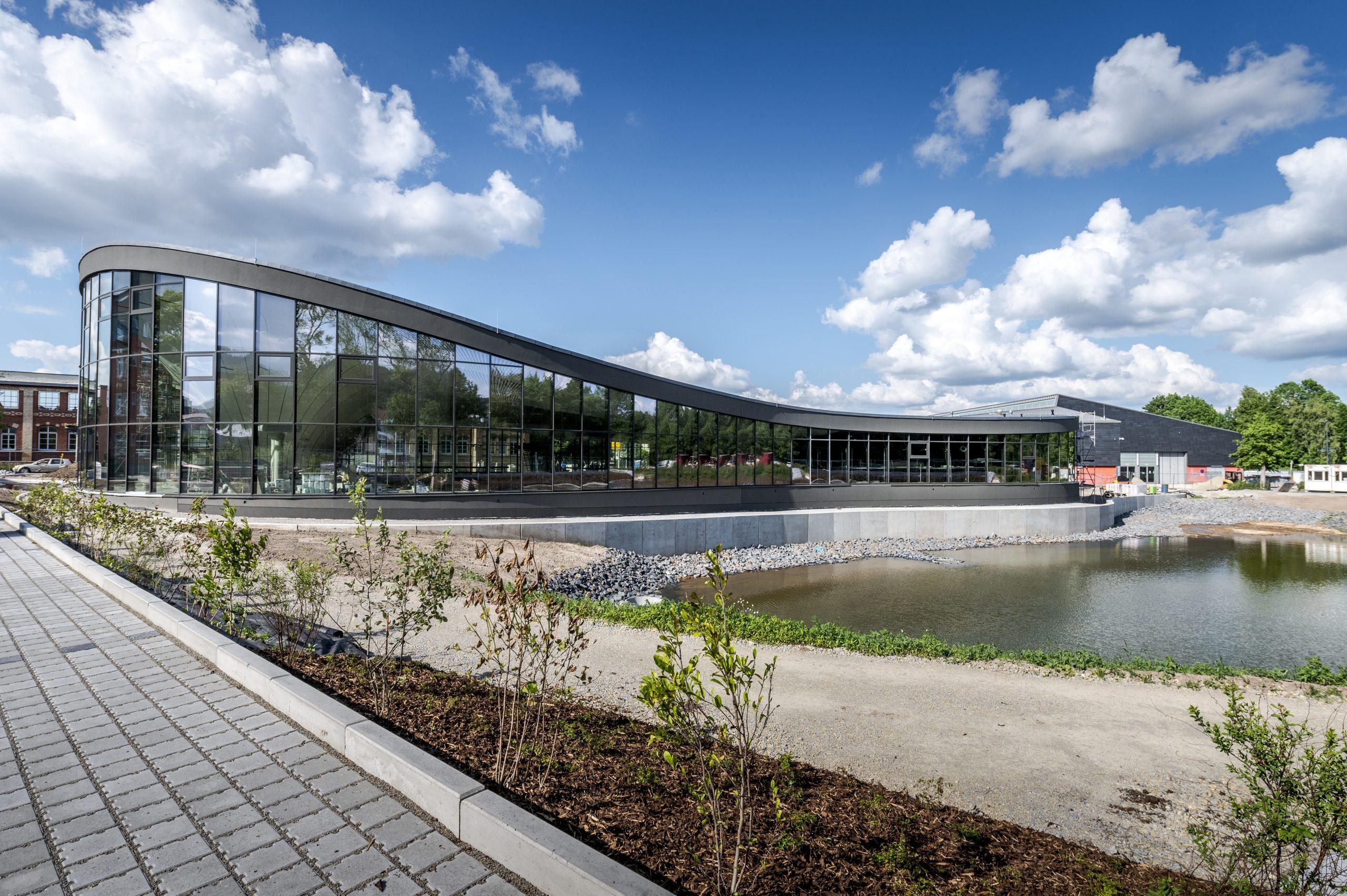 Objektüberwachung für Neubau Schwimmhalle Ilmenau